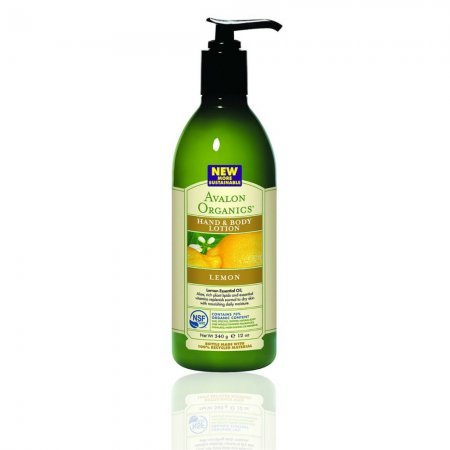 AVALON LOTION,HAND & BODY,LEMON, 12 FZ