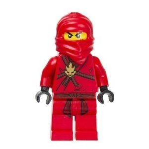 Kai (Red Ninja) Lego Ninjago Minifigure]()