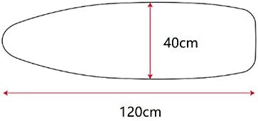 Housse pour table à repasser, 100% coton, coussin de rechange avec rembourrage épais anti-brûlure et anti-taches Housse de Table à Repasser, 4 clips 120x40cm