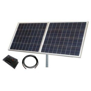 Tycon TPSK12-24-160W 160W Solar Panel Kit with Panel44; Pole Mount & Cable - 12V & 24V