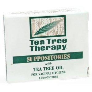 Tea Tree suppositoire Tea Tree thérapie six pack