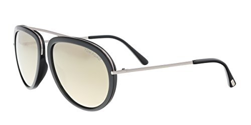 Sunglasses Tom Ford FT 0452 Stacy 01C shiny black / smoke - Stacy Tom Ford Sunglasses