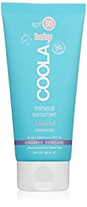 COOLA Organic Suncare, Baby Unscented Mineral Sunscreen, SPF 50, 3 fl. Ounce