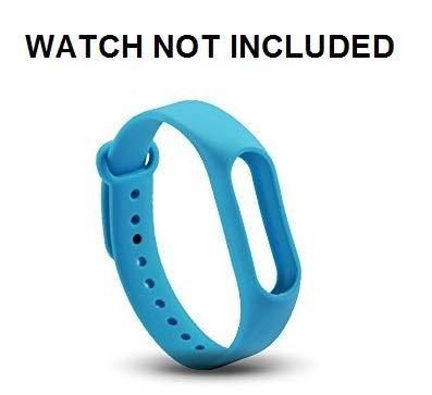 Brain Freezer J TPU Premium Design Replacement Strap Accessories Bands  Wrist Strap for Xiaomi MI Band 2 & Mi Band HRX Smart Activity Tracker Blue