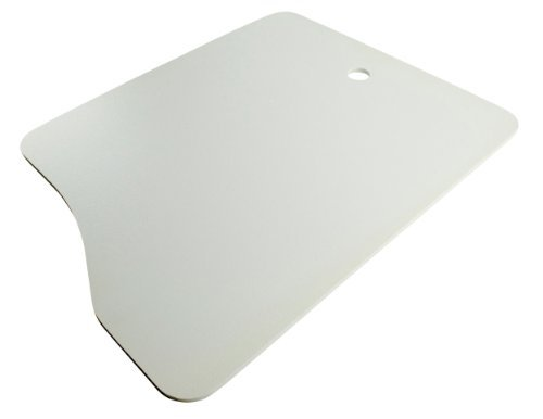 Lippert 306198 Better Bath 13-1/6 Width x 16 - 14-1/4 Depth Double Bowl Sink Cover White for LG Side only by Lippert Components