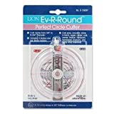 Circle Cutter Craft Scrapbook Lion Ev-R Round Perfect Circle Cutter with Centering Guide