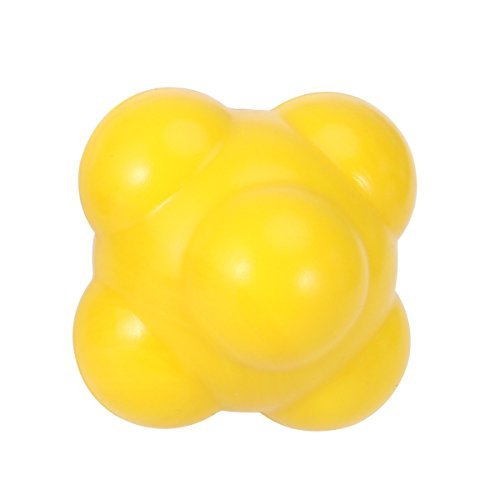 ROSENICE 58mm Reaction Ball for Developing Exceptional Hand-Eye Coordination (Yellow)