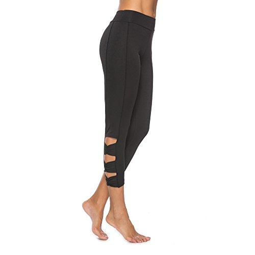 ce5873077de2a URIBAKE ❤ Women's Workout Leggings Extra Soft Solid Fitness Sports Gym  Running Yoga Athletic Pants