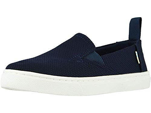 TOMS Kids Unisex Luca (Little Kid/Big Kid) Navy Sport Knit 5.5 M US Big Kid (Best Child Names 2019)