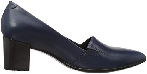 45 01159 Scarpe Tacco Block Blu Shape Pointy Ecco Donna pavement Con BWTqH5w6