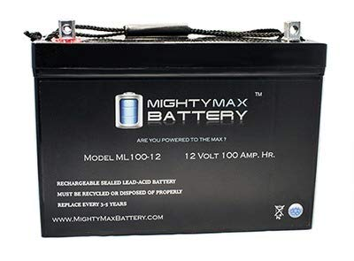 Mighty Max Battery 12V 100Ah SLA AGM Battery Eaton...