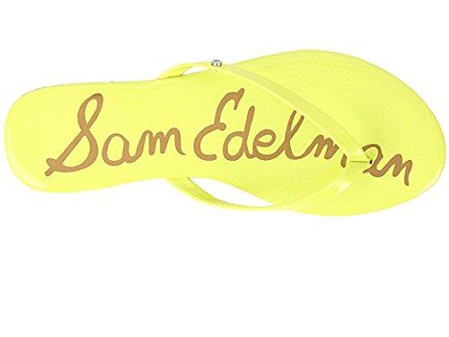 Sam Patent Neon Citron Ciabatte Donna Edelman Oliver 44RZAfB