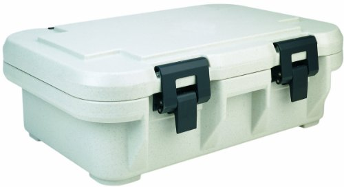 - Cambro UPCS140110 Stackable Top Loading S-Series Ultra Pan Carriers, 12.3 Quart, Polypropylene, Black, NSF