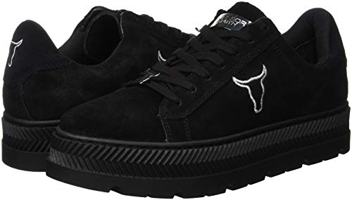 Gymnastique Smith Chaussures 001 Noir Femme De Windsor black Kyla TgxI44a
