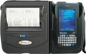 Datamax-O'Neil 200463-101 Printpad CN3, Thermal Receipt Printer, Bluetooth, Serial/USB 2 MB, with 2 Batteries, Hand Strap, Cleaning Card (Printpad Thermal Receipt Printer)