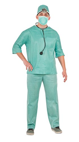 [Doctor Costume (Size Standard)] (Family Themed Fancy Dress Costumes)