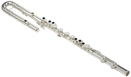 Pearl Bass Flute w/Case and Cover PFB305