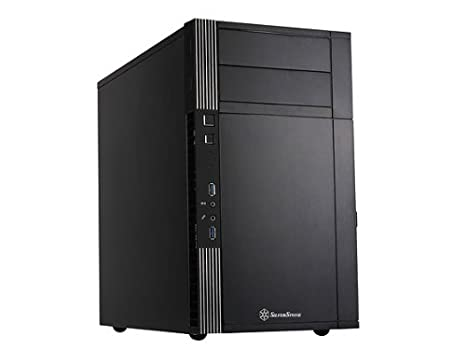 Amazon.com: SilverStone Technology Midi-Tower Negro carcasa ...