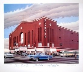 olympia-stadium-lithograph-autographed-by-the-production-line-howe-lindsay-abel