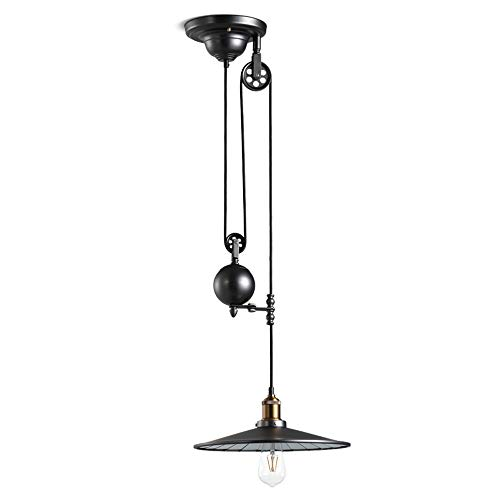 Qyyru Industrial Industrial Dining Room Pendant Light/Dining Table Chandelier/Ceiling Lamp Concrete Grey with Steel/Nickel Matt/Satin - Flynn Round E27-E26 Max Indoor Lighting/Light - Nickel Matt Ceiling Lamp