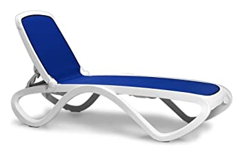 Nardi Omega Stackable Lounge Chairs, Set Of 2