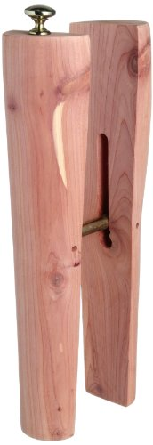 Woodlore  Boot Shapers Boot, Cedar, all sizes Medium/Wide Shaft US