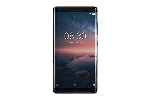 Nokia 8 Sirocco (TA-1005) 6GB / 128GB 5.5-inches LTE Factory Unlocked - International Stock No Warranty (Black)