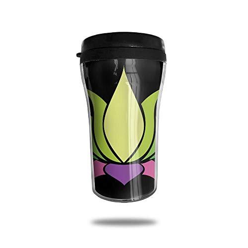 with Lid, Indian Art Personalized Custom 250ml Coffee Cup Tea Mug Travel Vacuum Mugs Drink Bottle ()