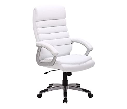 Chefsessel weiß  Bürostuhl Drehstuhl Chefsessel Schreibtisch Stuhl Bürosessel ...