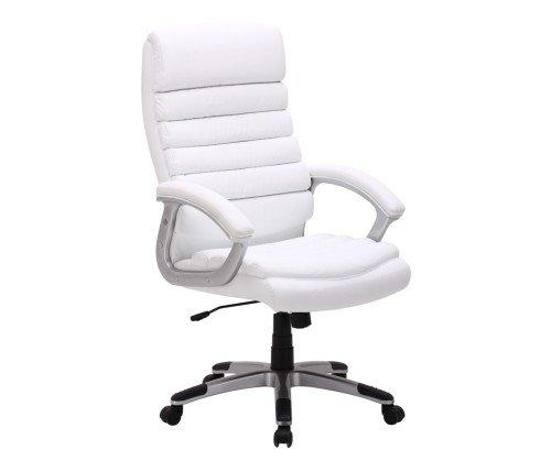 Schreibtischstuhl weiß leder  Bürostuhl Drehstuhl Chefsessel Schreibtisch Stuhl Bürosessel ...