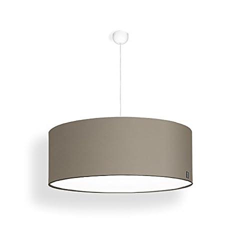 lucere - Pendelleuchte - Lampenschirm - beige grau ø 50 ...