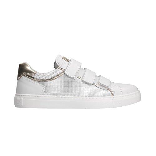 5261 Giardini Bianco Donna P805261D Scarpe Sneakers Nero wXAHqdd