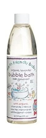 Earth Friendly Baby Children Bubble Bath Kids Calming Lavender 300 ml Ecocert Lansinoh Laboratories Inc 82109