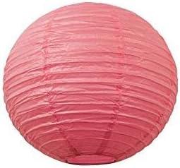 20.32 tama/ño 10,16 15.24 hot pink Farolito redondo de papel para boda 40.64 cm 10CM cumplea/ños o fiesta 35.56 4 30.48 25.4