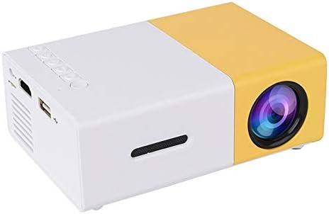 YG-300 Mini Proyector LED portátil de Bolsillo Beamer Proyector de ...