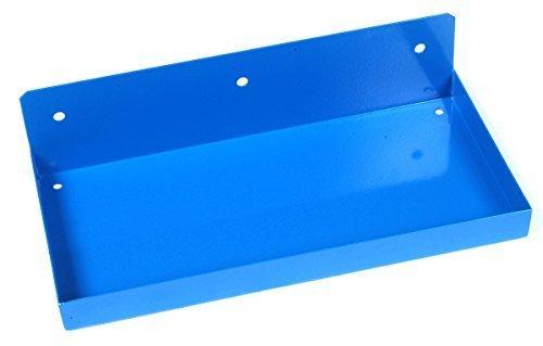 Triton Products 76126 Epoxy Coated Steel Shelf for DuraBoard Pegboard, 12-Inch x 6-Inch, Deep Blue by Triton 2