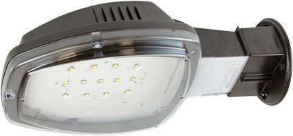 LED Outdoor Security Down Light 3000 Lumen, Dusk to Dawn, Very Bright white light (Post Lamp Dawn To Dusk)