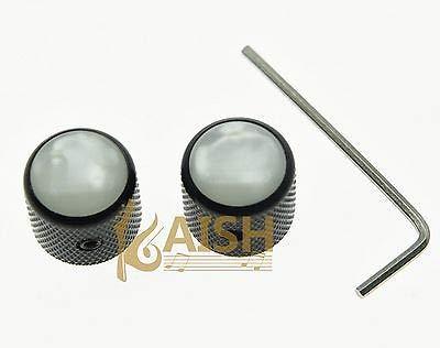 abile design belle scarpe disabilità strutturali Fidgetgear 2 pz con vite Pearl top nero Dome manopole per ...