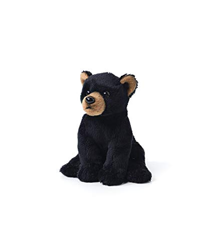 (DEMDACO Black Bear Cub Children's Plush Beanbag Stuffed Animal)
