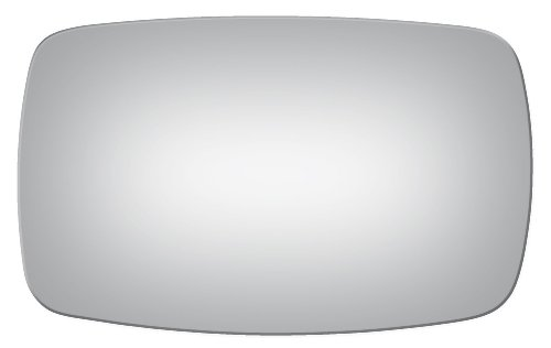 Flat Driver Left Side Replacement Mirror Glass for 1995-2000 Ford Contour ()