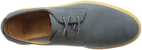 Clarks Flexton Plain - Blue Nubuck Various