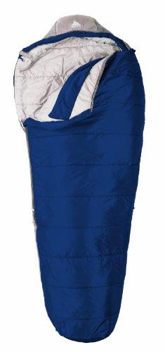 Kelty Cosmic 20 Degree Synthetic Sleeping Bag, Regular,Blue Solid, Outdoor Stuffs