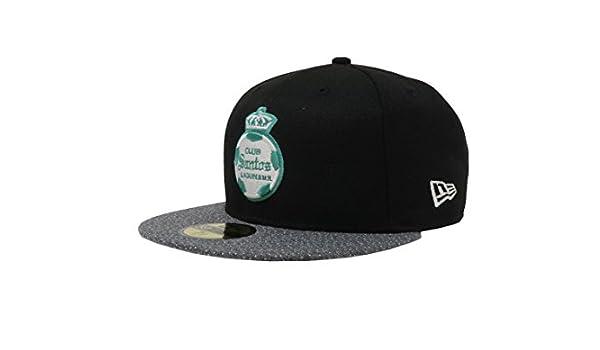 Amazon.com: New Era 59Fifty Hat Santos Laguna Soccer Club Liga MX Official Black/Gray Vize Cap: Clothing