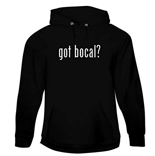 got Bocal? - Men's Pullover Hoodie Sweatshirt, Black, Small (Bocaux En Verre)