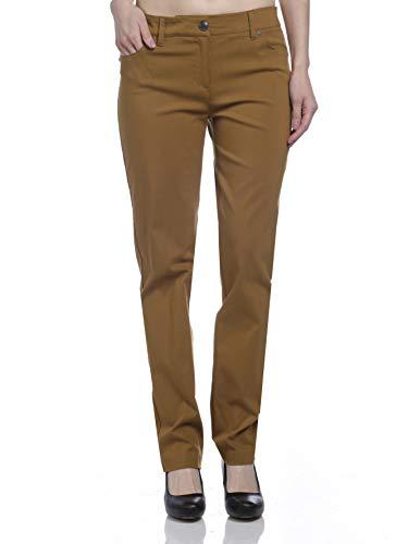 - Zac & Rachel Women's Millenium Full Length Pants, Bronze Torch, 14