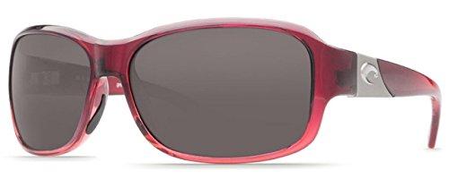 19d3fbd565 Costa del Mar Inlet Sunglasses Pomegranate Fade Gray 580Plastic