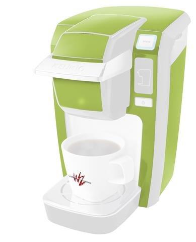 ソリッドコレクションセージグリーン – デカールスタイルビニールスキンKeurig k10 / k15 Mini Plusコーヒーメーカー( Keurigに含まれません   B0181DCLKY