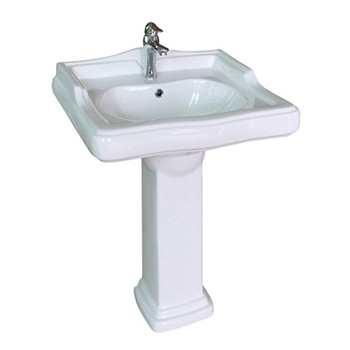 Pedestal Sink Medium White Grade A China