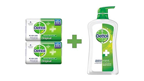 Dettol Soap, 2.5oz (Pack of 3) ()