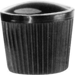 DimcoGray Black Phenolic Knurled Clamping Knob Female, Brass Insert: 8-32'' Thread x 5/16'' Depth, 5/8'' Diameter x 9/16'' Height x 1/2'' Hub Dia (Pack of 10) by DimcoGray